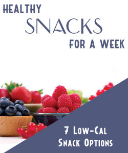 Healthy Snacks For A Week