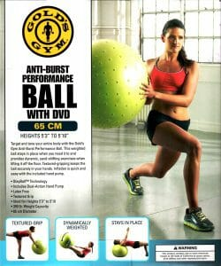 Golds Gym Stayball