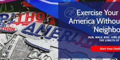 Amerithon Virtual Race Banner