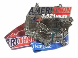 Amerithon Virtual Race Medal